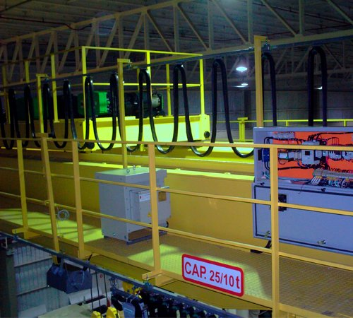 Control Crane Manutenção - Comissionamento